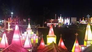 Pondok Paskah GMIM Efrata Amurang (foto facebook)