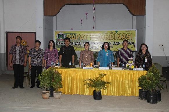Wakil Walikota Tomohon membuka Rakor Keasistenen Pemerintahan dan Kesejahteraan Rakyat
