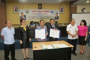 UNIMA , Institut Teknologi Bandung,  Dr Ir Kadarsah Suryadi DEA, Syerly Adelyn Sompotan