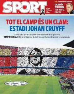 FC Barcelona, Nou Camp,  Johan Cruyff