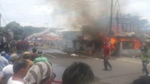 Tataaran II, Moningka Gerung, Moningka Sanger, Moningka Manengkey, kebakaran Tataaran