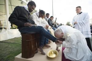 Paus Francis, Muslim , paskah