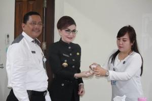 Pejabat Minsel , BNN, Obat Penenang, Drs Sumirat Dwiyanto MSi,