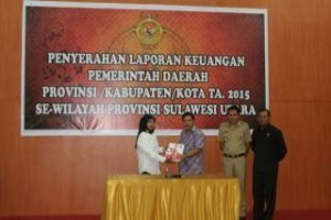 Minahasa Tenggara, LKPD 2015 ,BPK-RI,