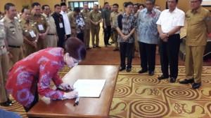 Musrenbang RKPD, Menteri Dalam Negeri, Tjahyo Kumolo,Christiany Eugenia Paruntu,