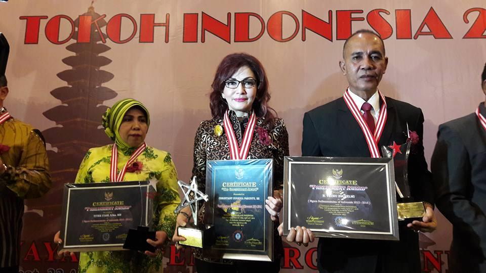 Christiany Eugenia Paruntu, A Govermant Award, Anugerah Pangripta Nusantara