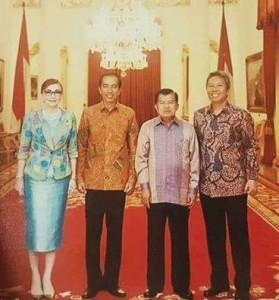 CEP-FDW ikuti Raker Dengan Presisden di Istana Negara