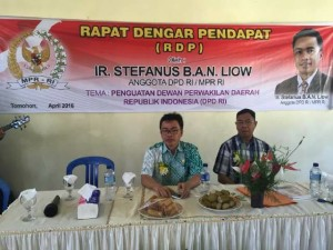 DPD , sistem bikameral , Drs Meyta Tambengi MM , Ir Stefanus BAN Liow