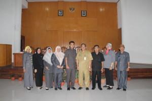 DPRD Kota Kediri yang berkunjujng ke Kota Tomohon
