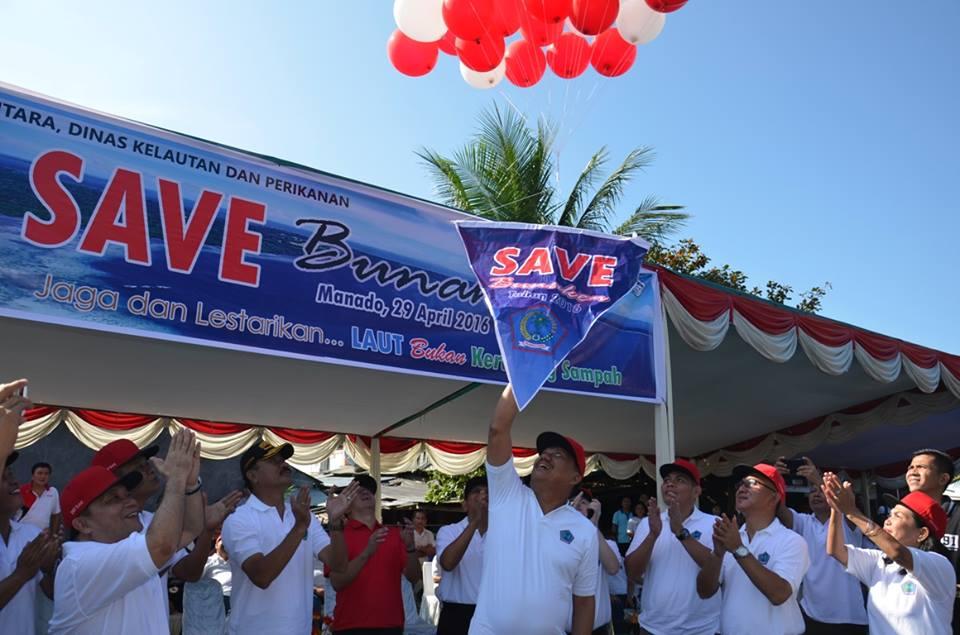 Gubernur Sulut Olly Dondokambey canangkan Save Bunaken