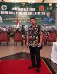 Rakornis TNI Manunggal , TNI Manunggal Membangun Desa, Frangky Mamangkey,