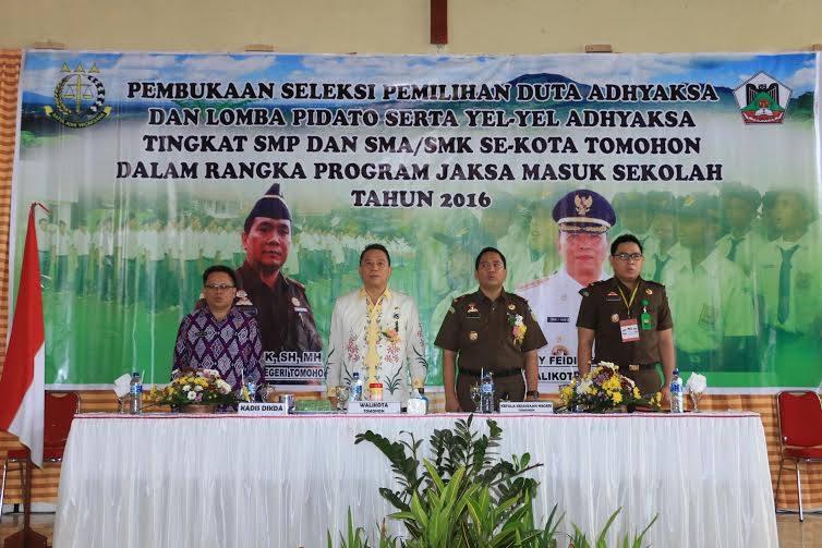 Kejari Tomohon , Seleksi Duta Adhyaksa, Muhammad HK SH MH