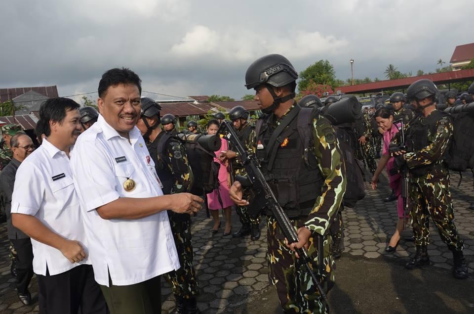 Polda Sulut , Operasi Tinombala 2016 , Tinombala , kelompok teroris