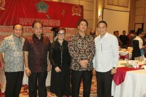 Wali Kota da Wakil Wali Kota Tomohon bersama Waki Gubernur dan Wakil Ketua DPRD Sulut