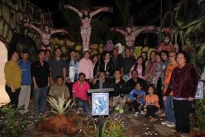 Kolom 12 dan 15 Juara Kembar Lomba Taman Paskah GMIM Bait-El Kamasi