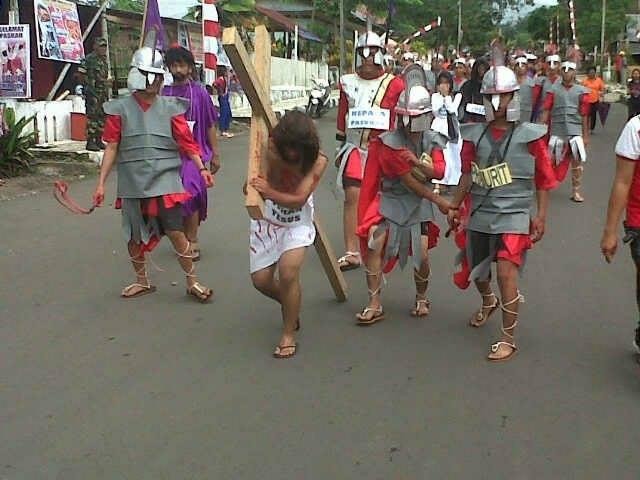 Umat Muslim ambil bagian di Selebrasi Paskah Minahasa Tenggara