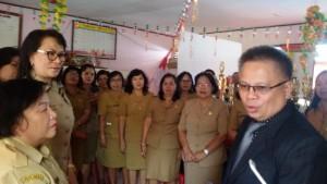 Tunjangan Sertifikasi , Sertifikasi guru, guru tomohon, Drs Gerardus E Mogi