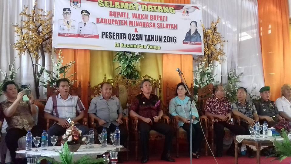 O2SN ,  Minahasa Selatan , Frangky Donny Wongkar,Olyvia Lummi,