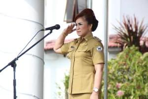 Wakil Wali Kota Tomohon Pimpin Apel Hari Otda