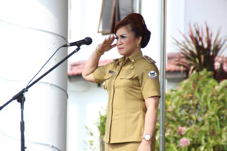 Wakil Wali Kota, Tomohon, Syerly Adelyn Sompotan,Hari Otda