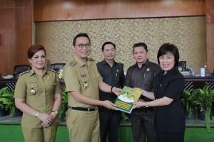 LKPD Tahun 2015, DPRD tomohon,  Ir Miky JL Wenur