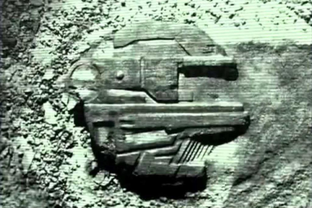 Ilistrasii oleh Hauke Vagt berdasarkan anomali yang ditemukan oleh tim Ocean X di laut Baltik