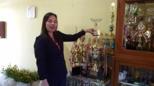 SMP Katolik Gonzaga Tomohon, Jeklin Tirukan SPd , UN smp