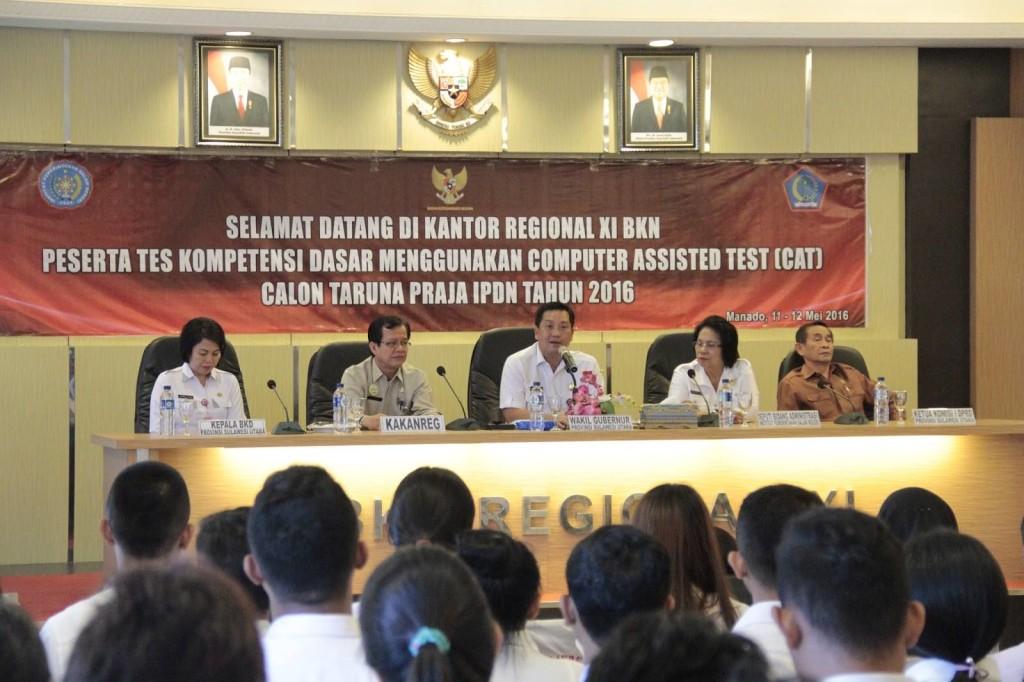 Pemprov Sulut, Praja IPDN, Wakil Gubernur Sulut, Steven Kandouw,