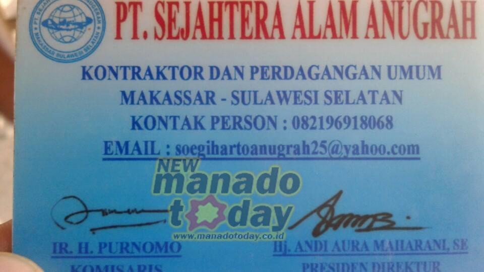 PT Sejahterah Alam Anugerah, program Kemenpera,PT SAA, minahasa selatan