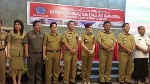 Gubernur Sulut Buka Rakorev Dana Desa di Minsel