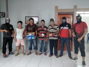 Tim Patola Polres Minsel ,  Kecamatan Sinonsayang, minahasa selatan, Judi Togel