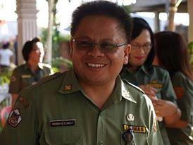 Kadis Dikda Kota Tomohon Drs Gerardus E Mogi