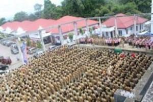 Pelantikan perangkat desa di Kabupaten Mitra
