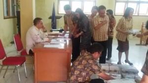 1.616, Peserta Ujian Nasional SD di Kota Tomohon