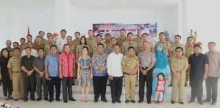 Pemkab Mitra, AKBP Arya Perdana ,  AKBP Benny Bawensel ,  Kapolres Minsel-Mitra
