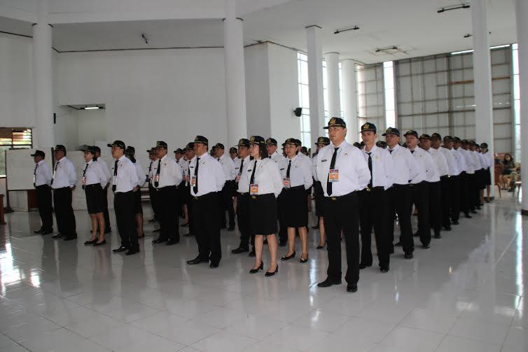 Peserta Diklat Prajabatan Honda Kategori 2 Angkatan XII Tomohon