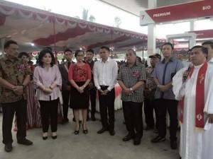Gubernur Sulut Resmikan SPBU Milik Kandoli di Sonder