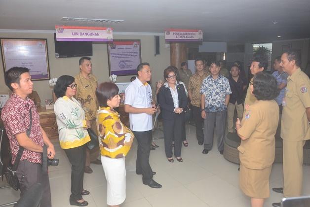 Pemkot Tomohon saat berkunjung ke Pemkot Denpasar