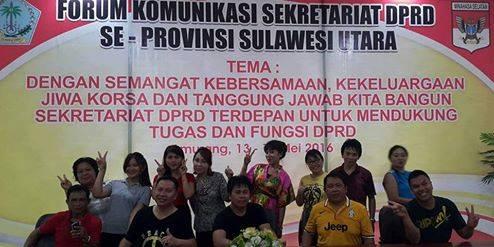 Forum Sekwan, DPRD Minsel,  Lucky Tampi SH,