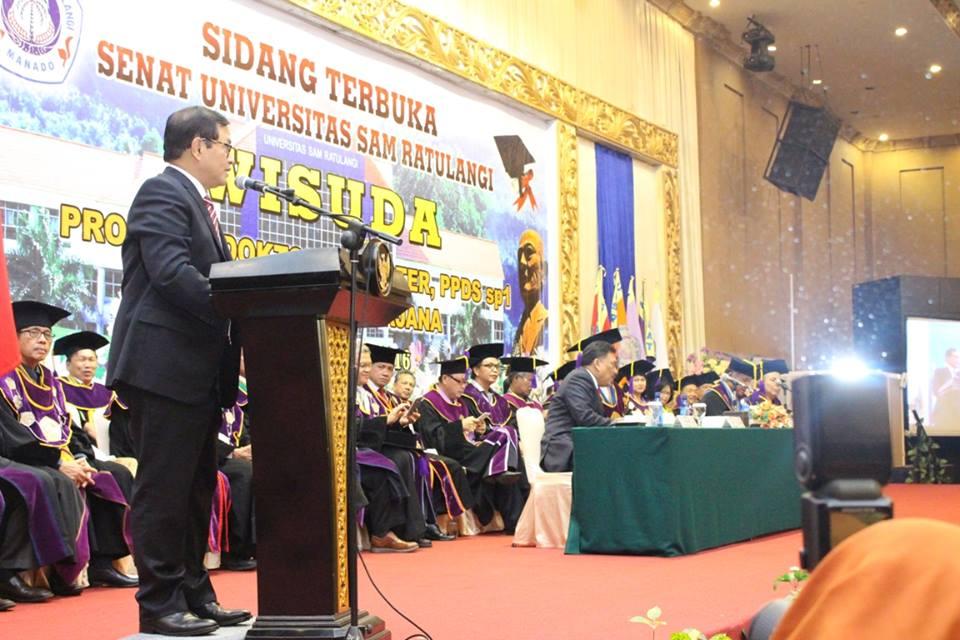 Pramono Anung, Unsrat Manado , MEA , masyarakat ekonomi Asean