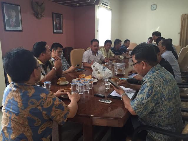 FGD yang digagas Media Center P/KB SG berlangsung di Kantor DPD-RI Perwakilan Provinsi Sulut di Manado, Jumat (27/5/2016)