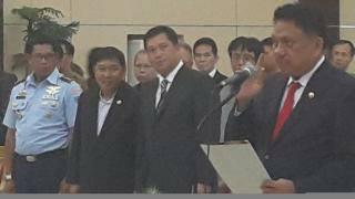 Bupati, Minahasa Tenggara , James Sumendap SH , Vecky Lumentut , Mor Bastian,