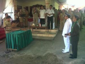 Kariani Kolinug, Hukum Tua Desa Wioi Satu, Jalan lingkar Desa Wioi Raya