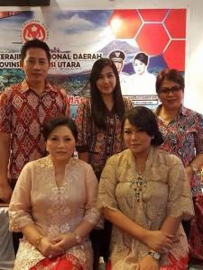 Rakernas Dekranas, Dewan Kerajinan Nasional , Iriana Jokowi, Ruddie Lengkong SSTP