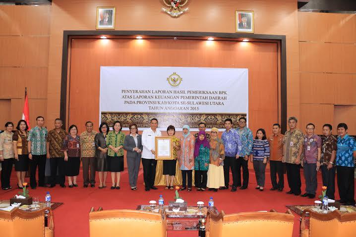 Tomohon pertama terima Opini WTP se-Indonesia tahun 2016