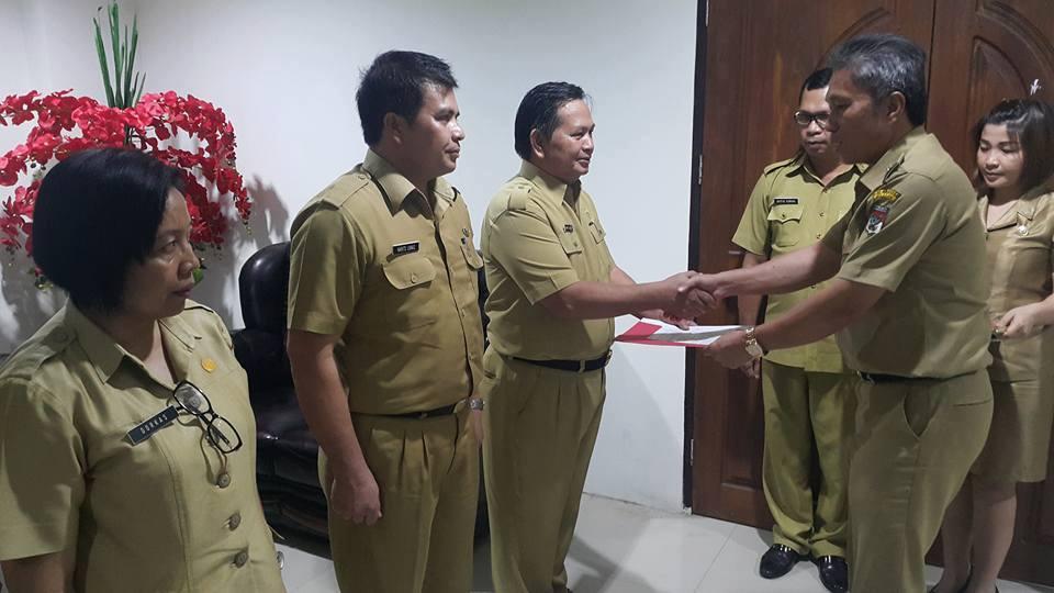 Pejabat, Pemkab Minsel, Drs Handri S Sondakh,Harits Lokas ST,Dorkas Singkala ST,  Ferry ST