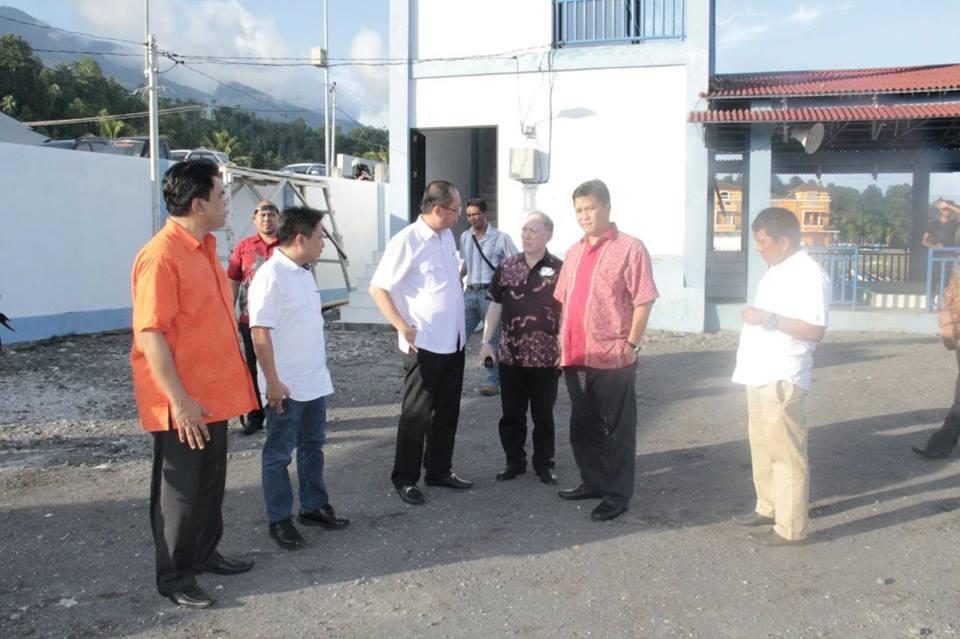 Wakil Gubernur Sulawesi Utara , Steven Kandouw, Sitaro , bupati sitaro, Tonny Supit,