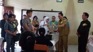 Wali Kota Tomohon, Jimmy F Eman SE Ak ,  SMPN 1 Tomohon, Ujian Nasional