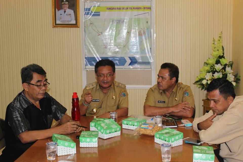 Wakil Walikota Bitung, Ir Maurits Mantiri, Tim Percepatan Pembangunan, bitung