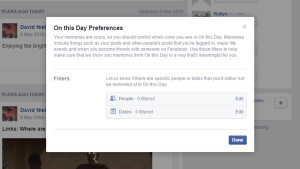 On This Day, Facebook, tips Facebook